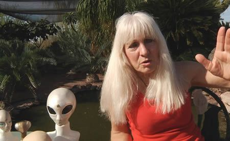 Artist Cynthia Crawford Claims She is 2/3 Alien and 1/3 Human, Part of a Government Experiment