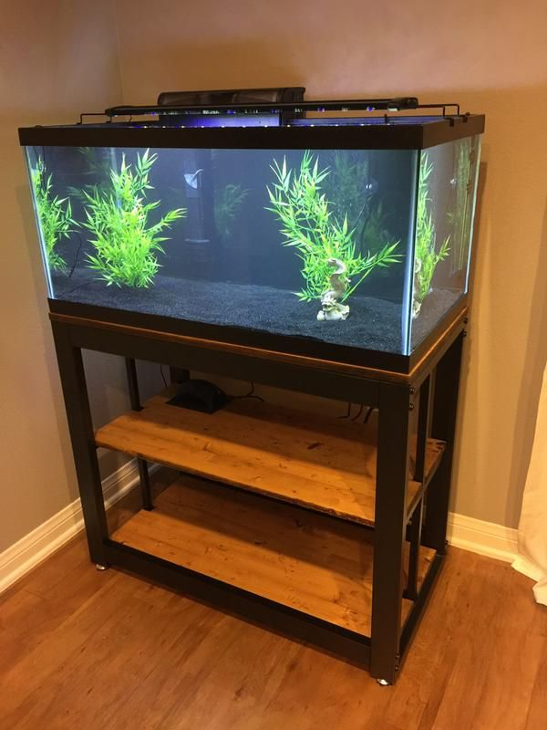 Review Photo 1 In 2020 Fish Tank Stand Cool Fish Tanks Tank Stand