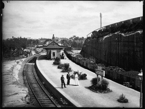 Leura Railway Station of yesteryears.A♥W