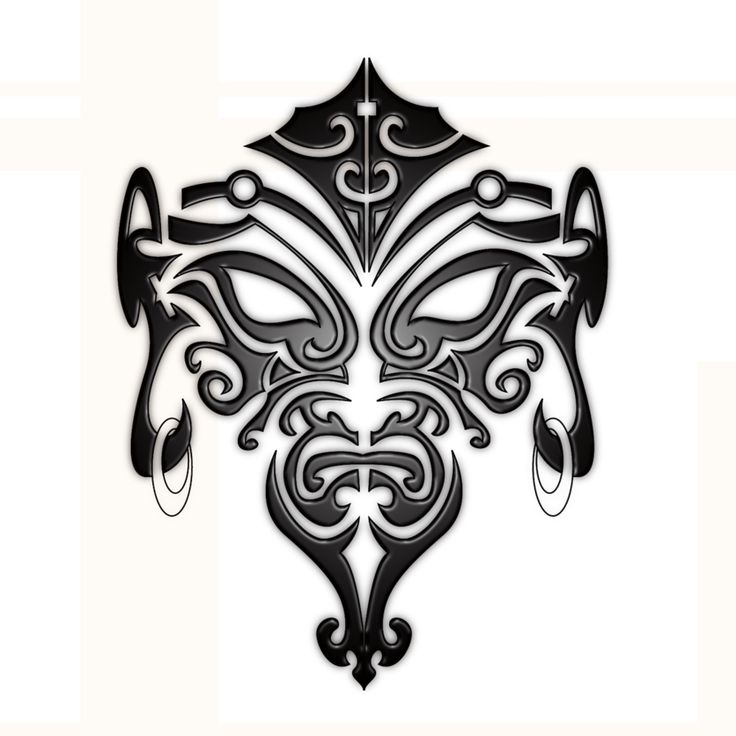 Maori Face Tattoo by B-Rox-U.deviantar… on @deviantART #Maoritattoos