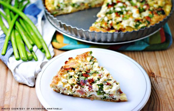 Bacon Vegetable And Ricotta Quiche With Puff Pastry Crust Brunch Recipes Delicious Soup Delicious Healthy Recipes