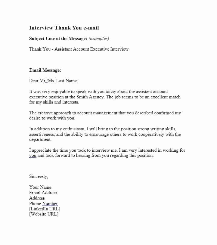 Medical School Interview Thank You Letter Awesome Thank You Email After Interview Samp Interview Thank You Interview Thank You Letter Interview Thank You Notes