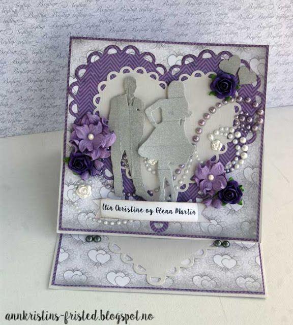Wedding easel card