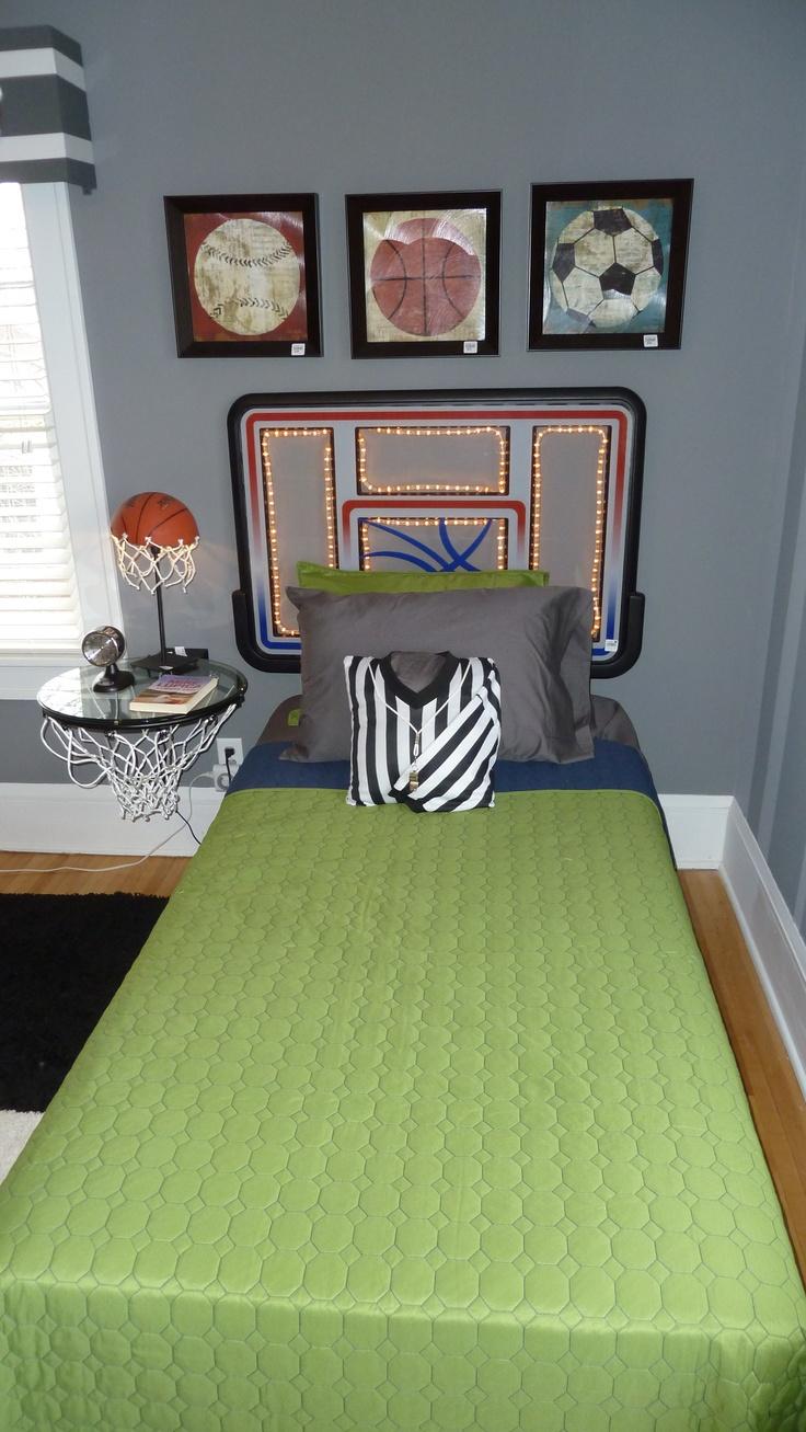 Basketball themed bedroom  Bachmans Holiday Ideas House