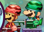 Mario Bros Metal Slug