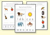 Printable Preschool and Kindergarten Worksheets