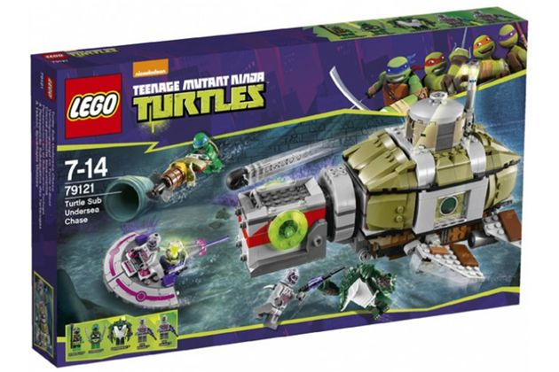 New 'Teenage Mutant Ninja Turtles' LEGO Set Images Arrive Online