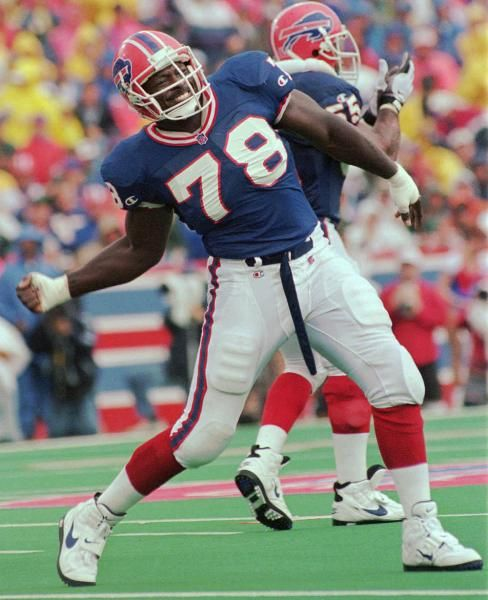 78 , Bruce Smith, Buffalo Bills King Defense.                                                     IT's On! Defense End