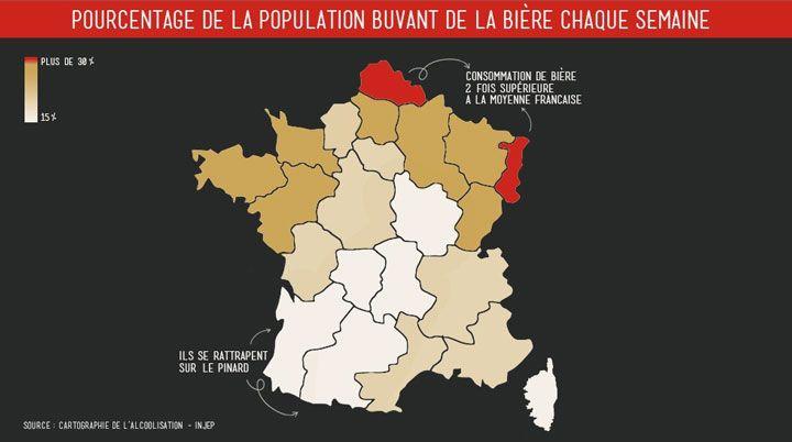 9 cartes originales qui vont changer votre regard sur la France et sur le monde