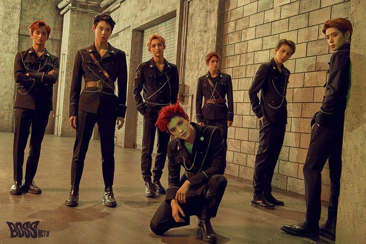 NCT U BOSS, NCT, TAEYONG, JUNGWOO, MARK, DOYOUNG, WINWIN, JAEHYUN, BOSS, 2018