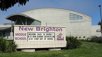 New Brighton Middle School ~ 6-8 Located in Capitola, Ca