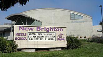 New Brighton Middle School ~ 6-8 Located in Capitola, Ca