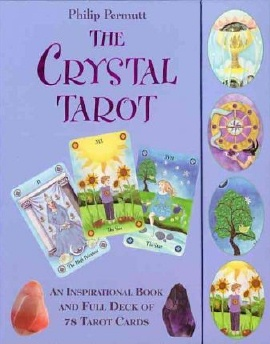 The Crytal Tarot Cards - click image for deck review at Tarot Wisdom Readings