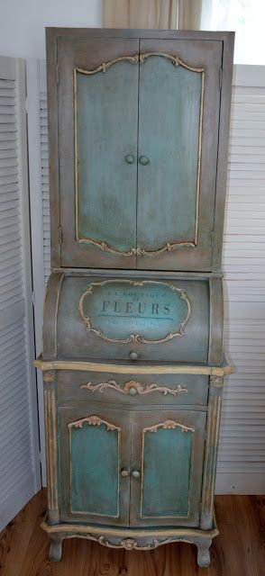 Painted Furniture by secret garden