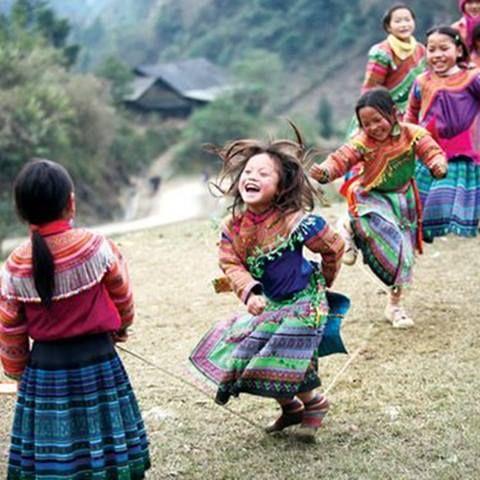 La alegría de ser niños.