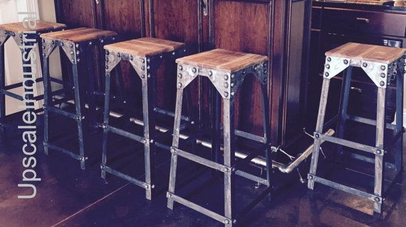 Best 25+ Rustic Bar Stools Ideas On Pinterest