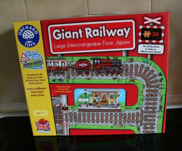Giant Railway and Station - review and giveaway - Over 40 and a Mum to OneOver 40 and a Mum to One