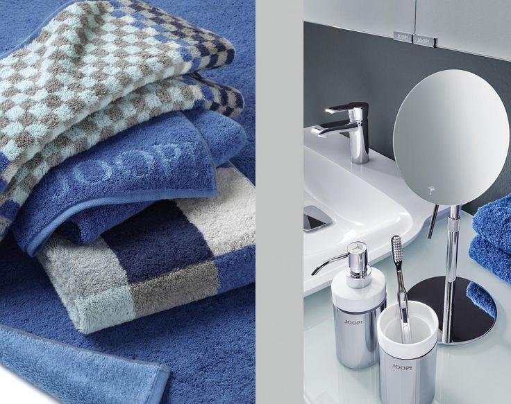 JOOP! handdoeken en accessoires en ... een nieuwe prijsvriendelijke wastafelmengkraan (leverbaar vanaf het najaar van 2014).