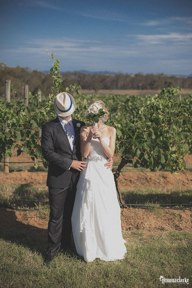 Bree and Andrew's Hunter Valley Wedding with kangaroos!
