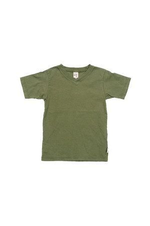 Love pairing these Vneck Tees with khaki or jean shorts and baseball cap.  He looks like such a little college dude!