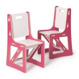 Sprout Modern Kids Chairs in Pink