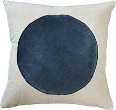Navy Sphere Cushion 50x50-cushions-crave