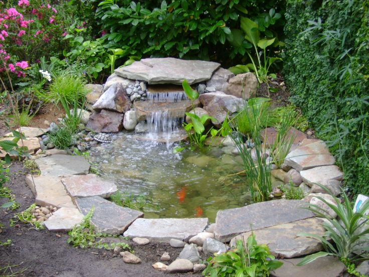 Superb Small Outdoor Water Feature Designs | Dreamed Of A Small Pond Your Own  Waterfall Or An