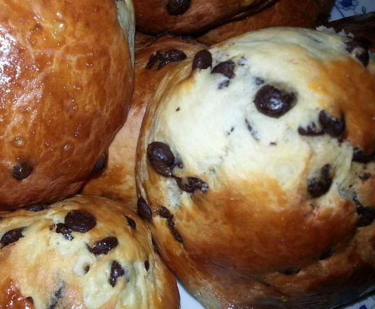 Rezept Schokobrötchen von Dagny - Rezept der Kategorie Brot & Brötchen