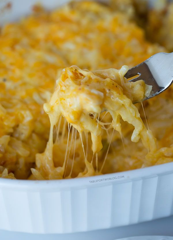 Cheesy Hashbrown Casserole!! Holy Cheesy Goodness ~ This is Fantastic!!