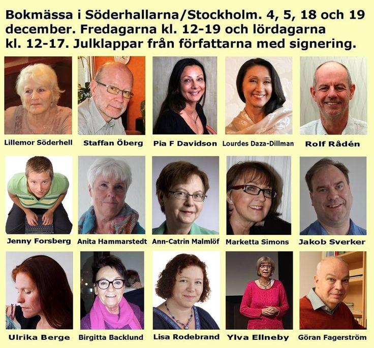 Bokmässa Söderhallarna julen 2015