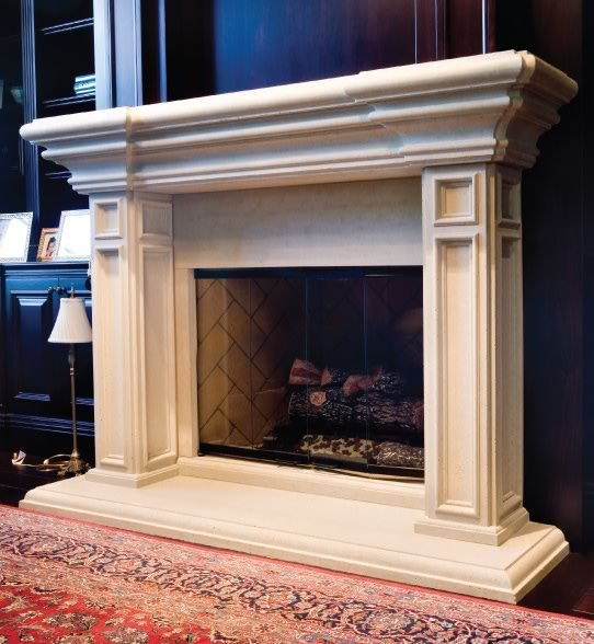 Arthur from Elegant Fireplace Mantel - check out more collections at  www.elegantfm.com - 17 Best Images About The Estate Collection Fireplaces On Pinterest