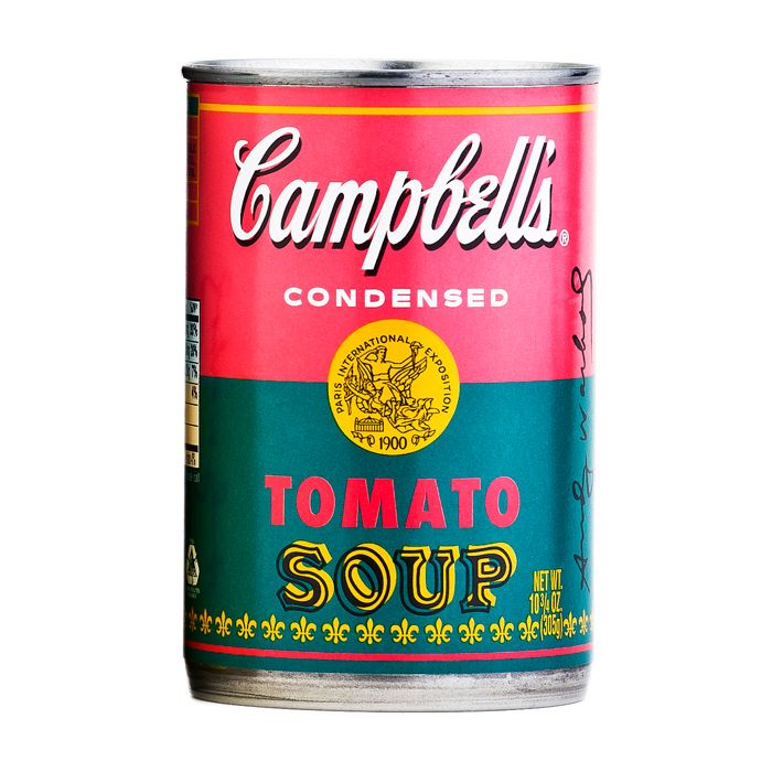 Andy warhol campbell soup essay