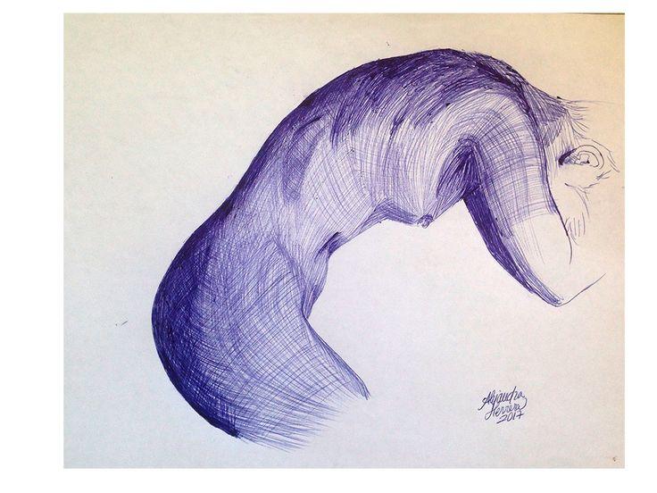 Estudio del cuerpo. Dibujo de figura femenina hecho con bolígrafo azul por @cacao22  Follow me in Instagram @alejandra_herrera_illustration  #ilustracion #illustration #dibujo #desenho #drawing #mujer #woman #mulher #art #arte #artist #astista #artoftheday #contemporaryart #contenporaryartist #illustrator #illustratorsoninstagram #illustrationart #ballpen #boligrafo #nude #desnudo #desnudoartistico #erotic