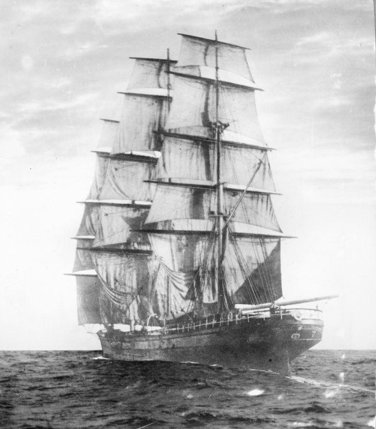 """Cutty Sark"" clipper ship, 1869......built in Dumbarton Scotland"
