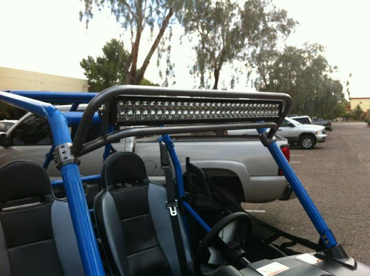 "POLARIS RZR JAGGED X 30"" LED LIGHT BAR & MOUNT COMBO ..."