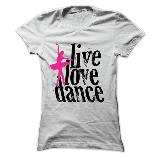 Live Love Dance - #tshirt yarn #estampadas sweatshirt. SAVE => https://www.sunfrog.com/LifeStyle/Live-Love-Dance-57672866-Ladies.html?68278