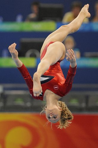 Nastia Liukin (United States) by jodfevic, via Flickr  gymnast, gymnastics