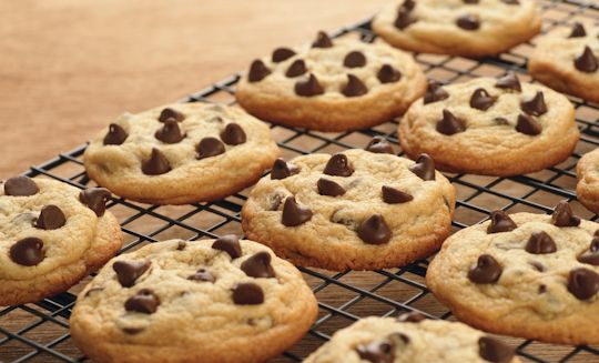 These Double Chocolate Chip cookies are sure to go down a treat!