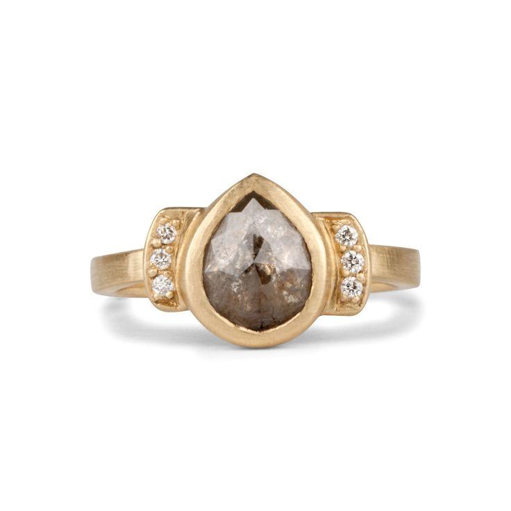 Alhambra Engagement Ring // 14k Yellow Gold — Corey Egan