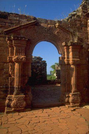Ruinas de San Ignacio, Misiones.