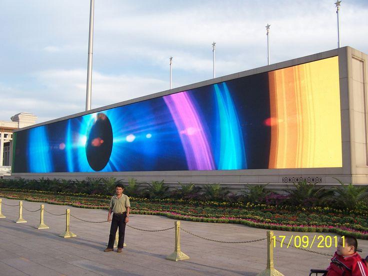 World largest LED TV in China