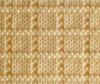 Вязание спицами рельефный узор №3978 схема