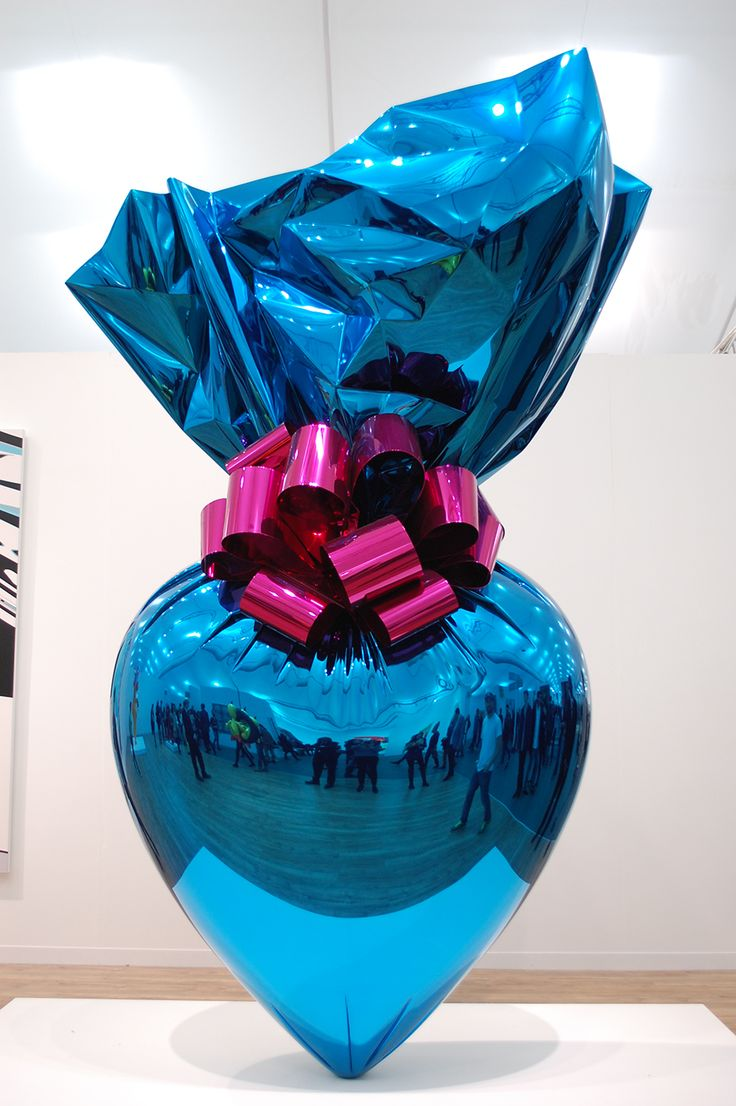 Coloring book by jeff koons - Oversized Scale Is Always Challenged Jeff Koons Pieces Up Close