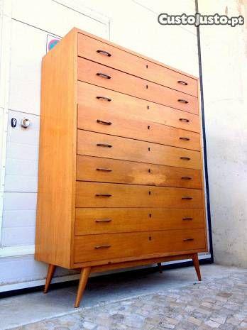 Movel 9 gavetas olaio vintage 110comp X45prof X150 - à venda - Móveis &…