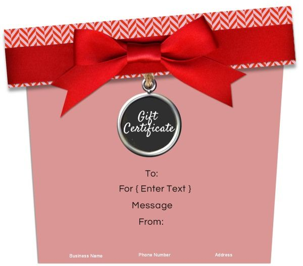 15 best Gift Certificate Templates images on Pinterest Free - christmas gift certificate template