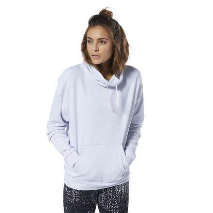 Training Essentials Marble Cowl Neck Sweatshirt