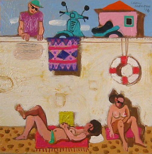 Leon Morrocco The Observer Oils   Scottish Contemporary Art