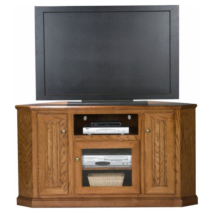 eagle furniture heritage 56 in tall corner tv stand 47745wp