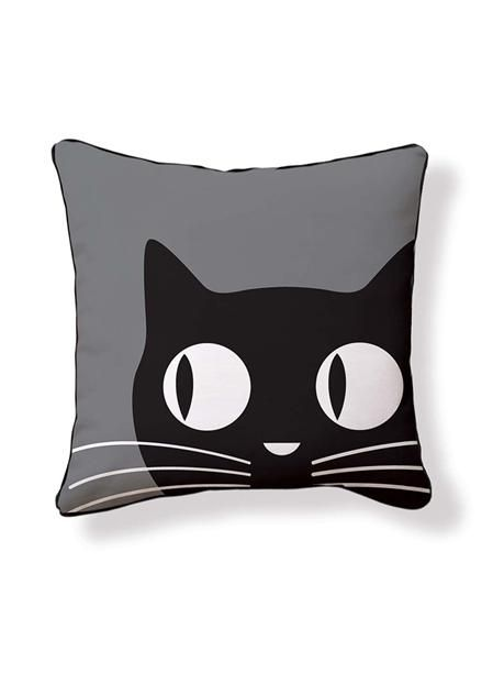 Big Eyes Cat Pillow.