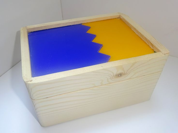 BHH wooden box.